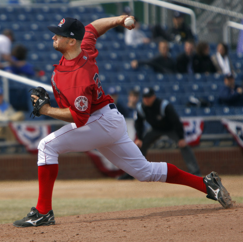 Stephen Fife pitched five scoreless innings Sunday, allowing three hits and one walk while striking out one. Thirty-seven of his 59 pitches were strikes.