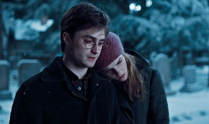 "Daniel Radcliffe and Emma Watson appear in ""Harry Potter and the Deathly Hallows: Part I,"" which sets up the big Harry-Voldemort showdown."