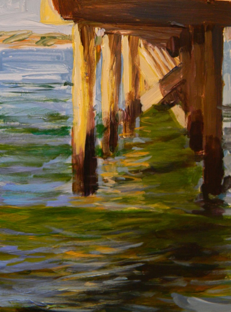 "Paul Brahms' ""Army Dock""."