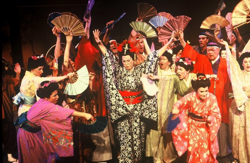 """The New York Gilbert & Sullivan Players will perform """"The Mikado,"""" sponsored by Portland Ovations, today at Merrill Auditorium in Portland."""