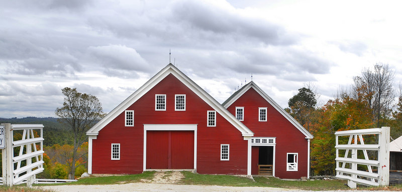 """Some of the state's most visually appealing structures will be examined in """"Our Barns: A History of the Barns of Maine,"""" an illustrated talk by Don Perkins at the New Gloucester Historical Society Meetinghouse at 7 p.m. Thursday."""