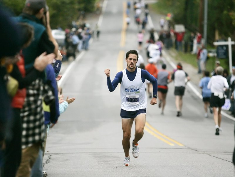 Robert Gomez, the Waldoboro native who competed for Bates College, will start the Boston Marathon for the first time as a member of the group of elite runners.