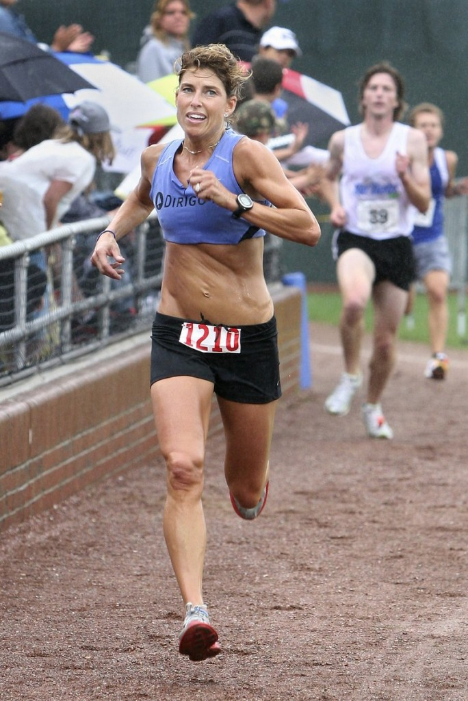 Sheri Piers of Falmouth, who has met the qualifying standard for the 2012 Olympic trials, has won two recent half marathons and will be an elite runner in Boston.