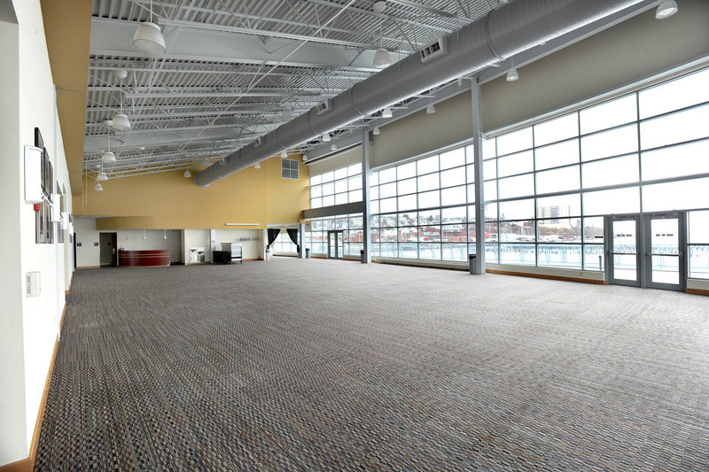 Ocean Gateway offers a large function room with harbor views, allowing city officials to charge a rental fee of $2,250 per day. The fees brought in $72,600 last year, and for next year the projected revenue is $90,000.