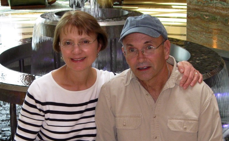 """Norman Parrott and his wife, Maureen, enjoyed some travel in recent years, including to Philadelphia, above, in 2009. His wife said she'll miss """"his quirky sense of humor."""""""