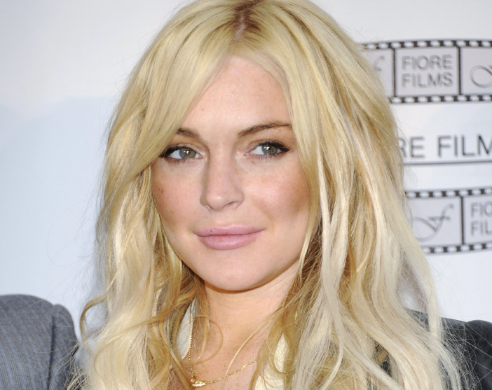 An April 12, 2011, photo of actress Lindsay Lohan.