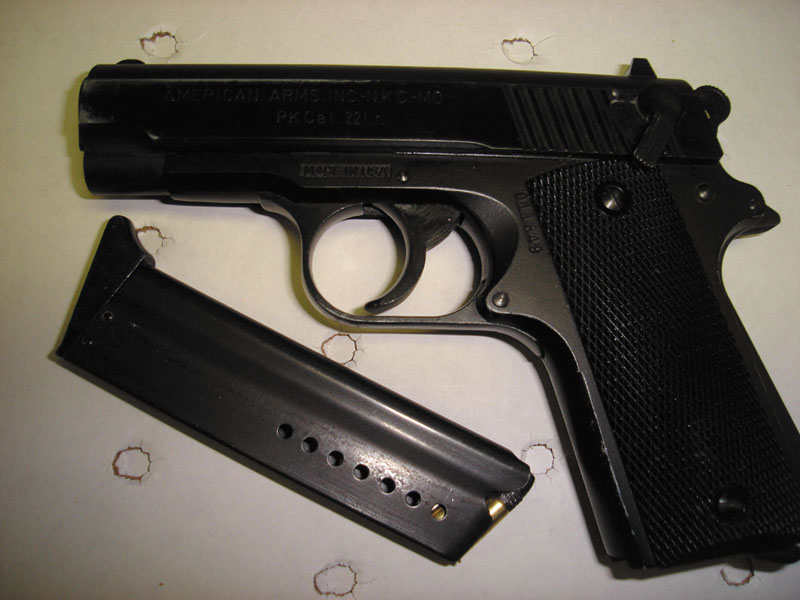 Pictured is the firearm the Waterville Police Department confiscated from Frederick Wintle.