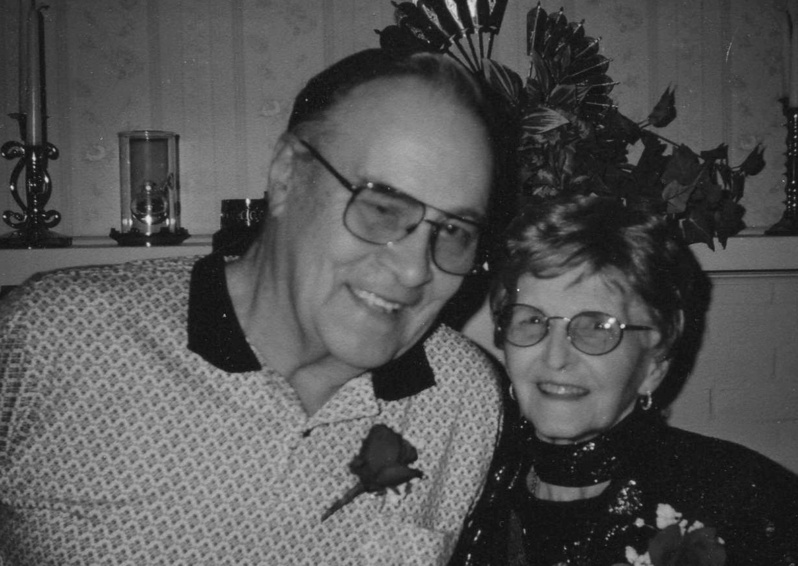 Raymond Seger and his wife, Jeannette, are shown at their 60th wedding anniversary.