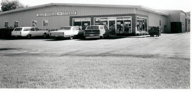 Allen, Sterling & Lothrop at its Falmouth location circa 1970.