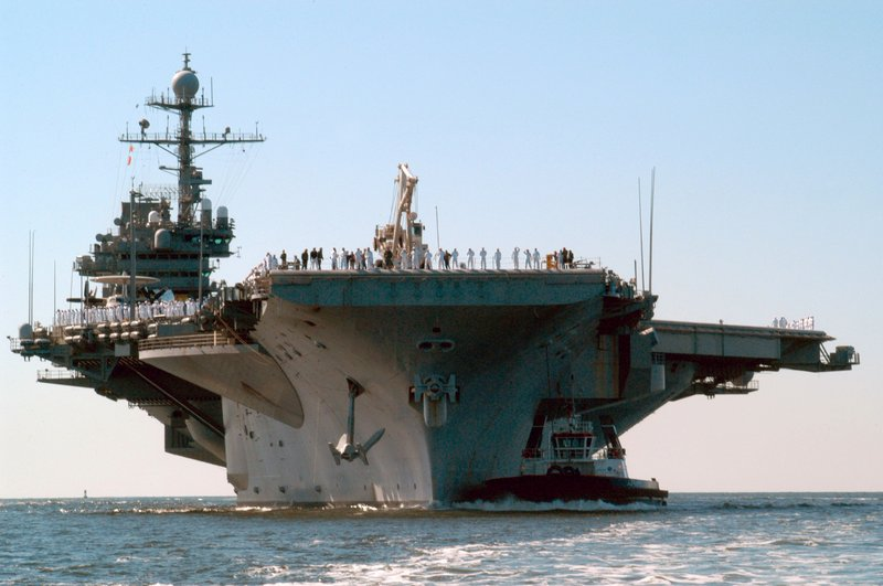 The USS John F. Kennedy was decommissioned in 2007. The Navy is accepting proposals from community groups that would like to provide a home port for the 1,050-foot ship.