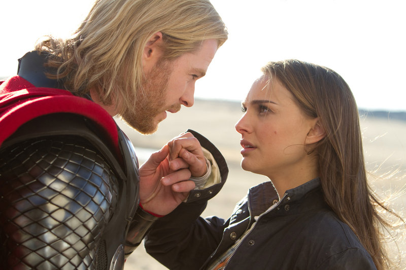 Chris Hemsworth and Natalie Portman bring romantic interest to the new comic-book adventure,
