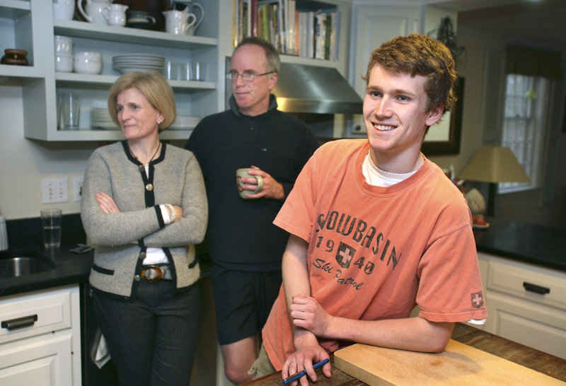 Tom and Heidi McInerney hope colleges consider everything else their son Ian has accomplished in high school, in addition to his SAT scores.