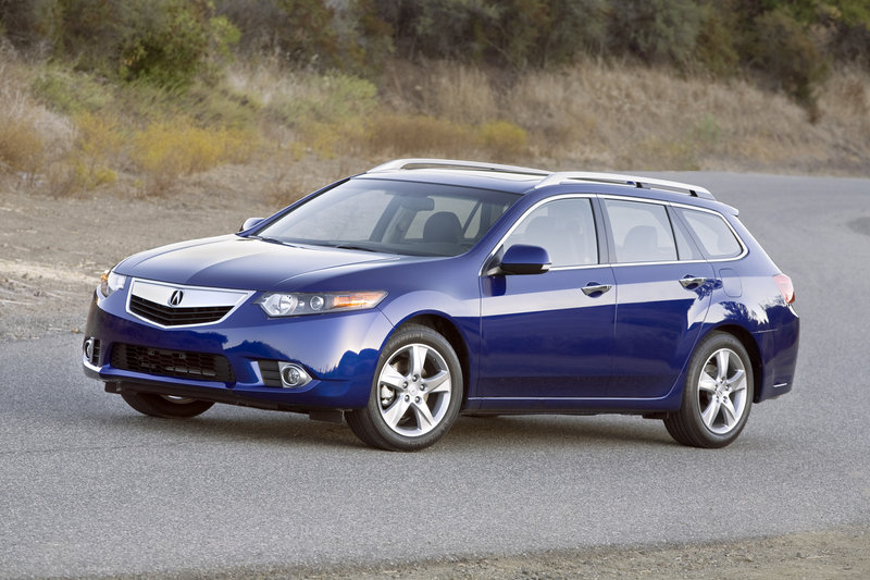 Acura's TSX Sport Wagon is one of the latest attempts by automakers to convince American car buyers that station wagons can be cool. The TSX wagon is as sleek and stylish inside and outside.
