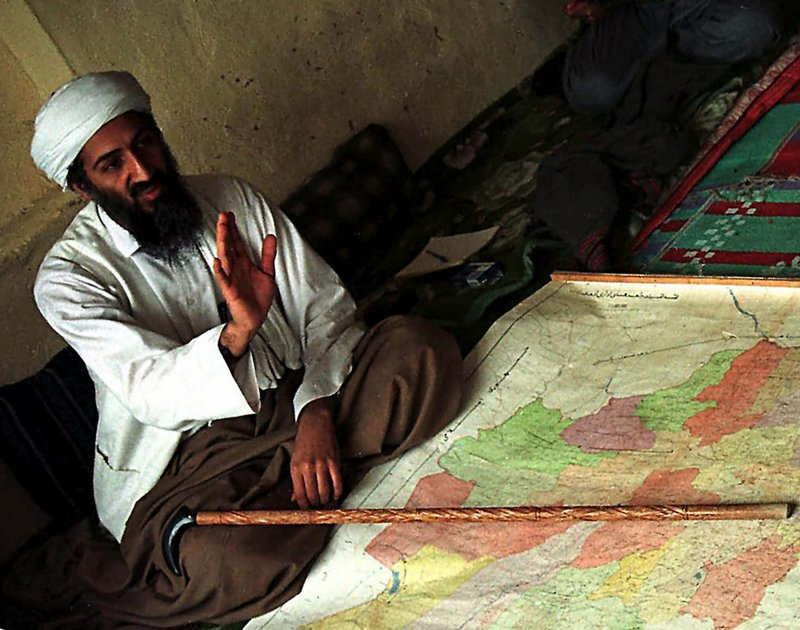 Osama bin Laden, seen in a photo from 1998, may have been planning an attack on U.S. trains on the upcoming 10th anniversary of the Sept. 11 attacks.