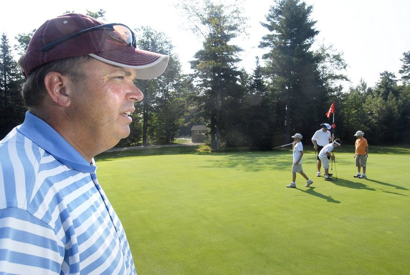 Brian Bickford, the director of golf at Val Halla in Cumberland, is the new program director for the First Tee of Maine youth golf program based at Val Halla and Riverside in Portland.
