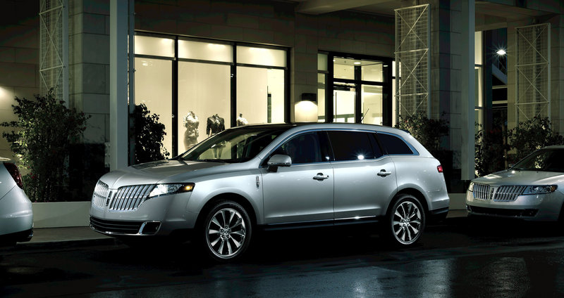 Nearly three quarters of the Lincoln MKT crossover vehicles are sold with all-wheel drive.