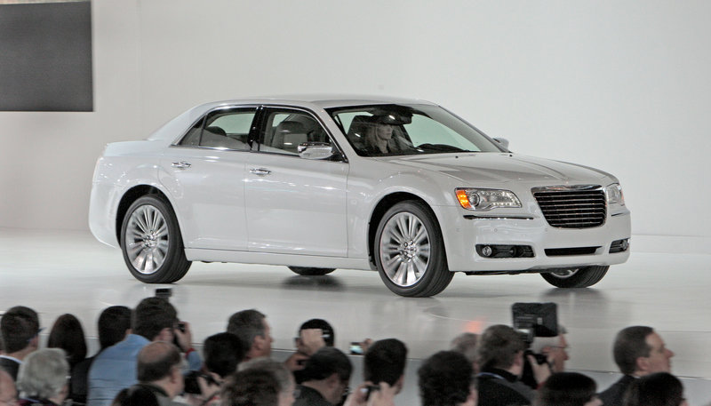 The new Chrysler 300 was introduced at the Detroit auto show in January. Although it is considered a mainstream model, and the percentage of 300s being sold with all-wheel drive has been increasing in recent years.