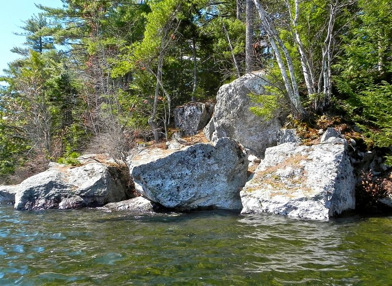 Boulders are a regular feature in Lake St. George State Park, which packs a lot of scenery into its 1,017 acres. It's best to visit now, before it's crowded with summer tourists.