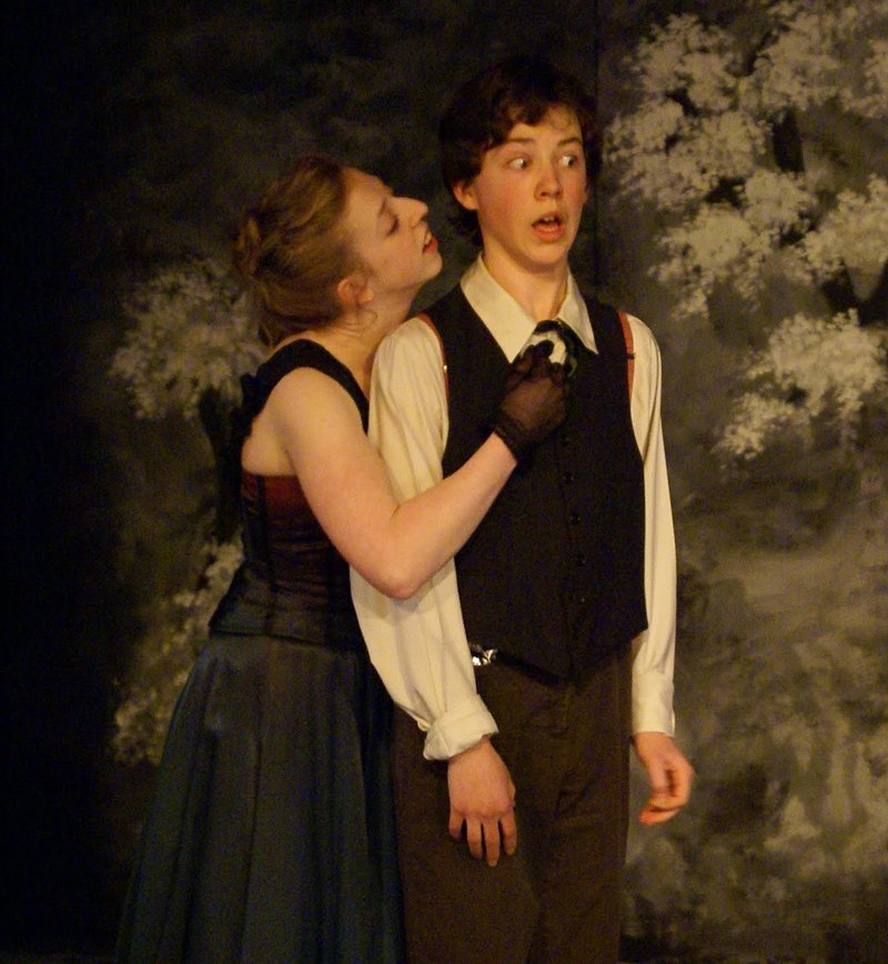 """Spring Awakening,"" presented by Mad Horse Theatre through May 22 at Lucid Stage in Portland."