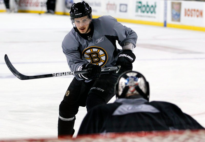 Forward Tyler Seguin, goalie Tim Thomas and their Bruins teammates face a stiff challenge in Tampa Bay as the Eastern Conference finals begin tonight.