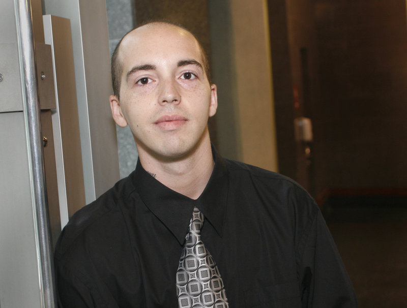 """""""I wanted to make it more than I wanted to get high or use drugs or alcohol,"""" says Chris Miller of Portland, who graduated Friday from adult drug court. Miller, 28, has been clean for nine months after 15 years of drug use."""