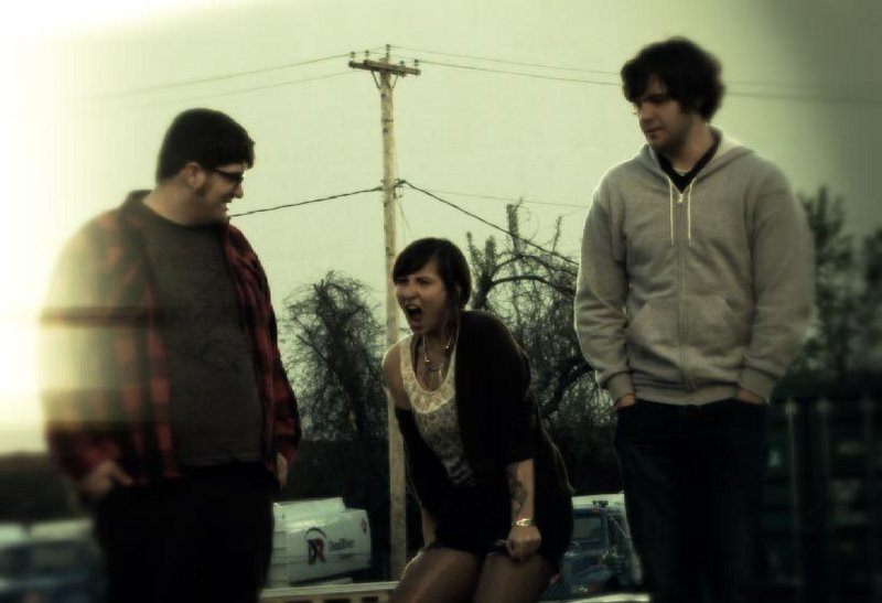 Anthony Bitetti, Jessamy Luthin and Ryan Higgins make up Good Kids Sprouting Horns. Their CD release is Friday.