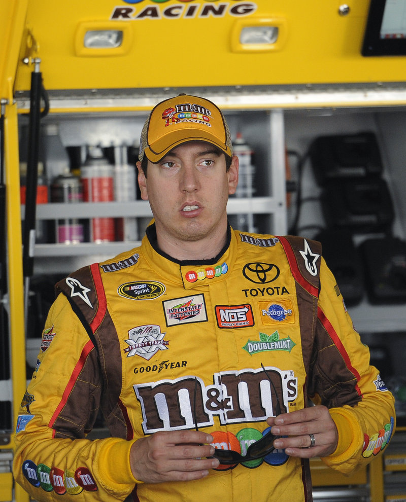 Kyle Busch was ticketed for driving 128 mph in a 45 mph zone in a borrowed $400,000 hand-built bright yellow Lexus.