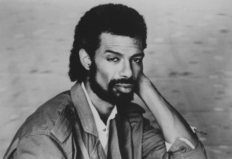 Gil Scott-Heron, seen in 1984, helped lay the groundwork for rap by fusing minimalistic percussion, political expression and spoken-word poetry. He died Friday at age 62.