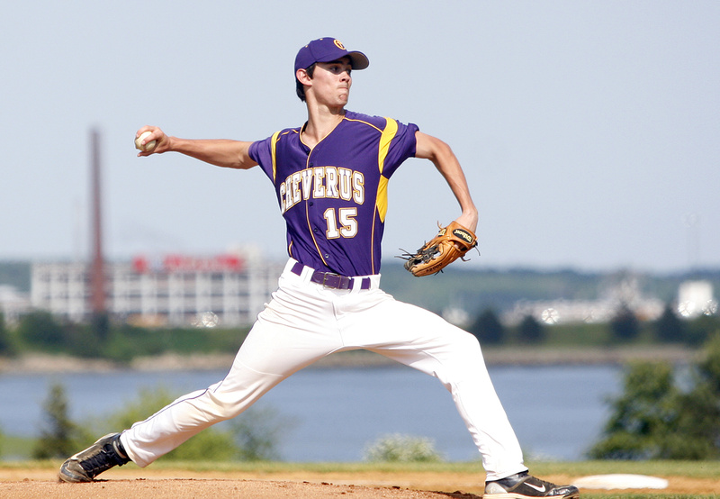 Louie DiStasio kept Thornton Academy hitters off balance and threw a three-hitter to lead Cheverus to a 5-2 playoff victory on Friday.