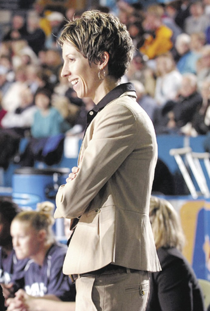 Former University of Maine coach Cindy Blodgett.