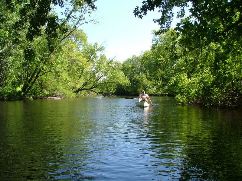 The Georges River Land Trust is holding a river paddle on Saturday from 10 a.m. to 1 p.m. GRLT volunteer Dick Matlack will lead participants through White Oak Pond to Middle River Bridge and back. Call the GRLT office at 594-5166 for directions to the meeting place in Warren.