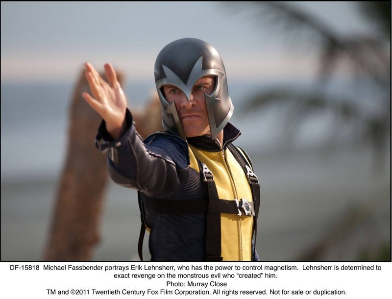 """Michael Fassbender portrays Erik Lehnsher in """"X-Men: First Class."""" The film is the fifth installment to the""""X-Men"""" series but is a prequel to the other movies."""