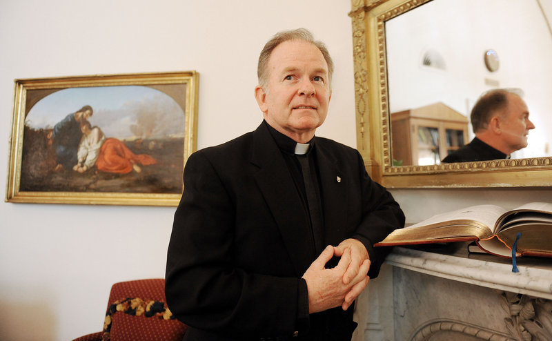 The Rev. Patrick Conroy, House chaplain