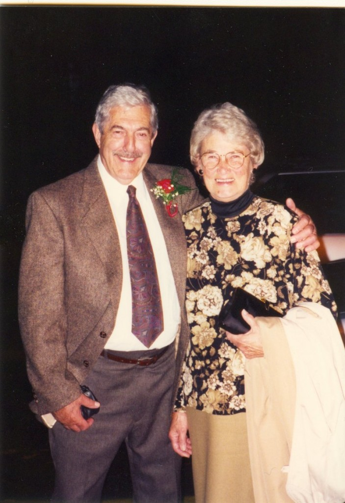 John Parker and this wife, Holly, at his 70th birthday party.