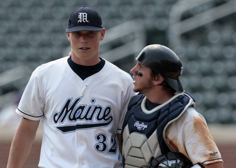 Maine pitcher Jeffrey Gibbs, catcher Tyler Patzalek and the rest of the Black Bears capped a successful season by winning a game in the NCAA regional at Chapel Hill, N.C.