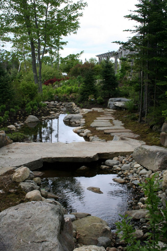 The Haney Hillside Garden at Coastal Maine Botanical Gardens in Boothbay will reopen Thursday after a yearlong renovation. Erosion and the 2007 Patriots Day storm had damaged the garden.