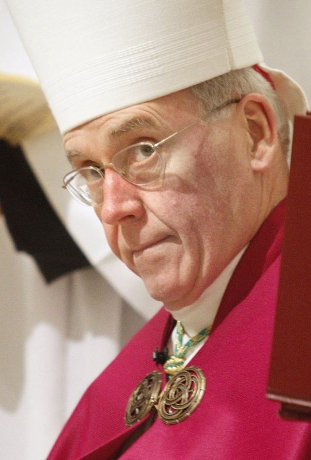 Bishop Richard Malone has reaffirmed his initial decision to close Cathedral School in Portland.