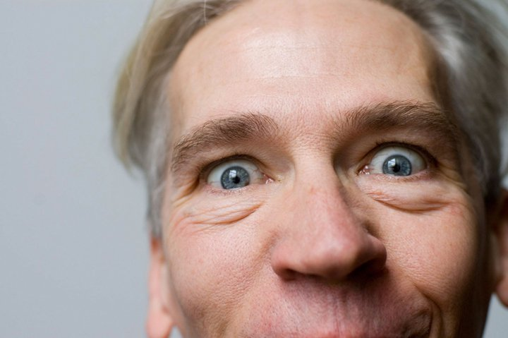 Michael Trautman performs his special brand of physical comedy on Friday at the Opera House at Boothbay Harbor.