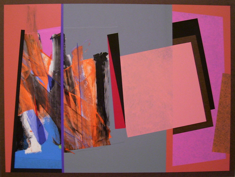 """William Manning's works, on display at Brunswick's ICON Contemporary Art, are more about visual intelligence than aesthetic charm. Here, """"Painting #324."""""""