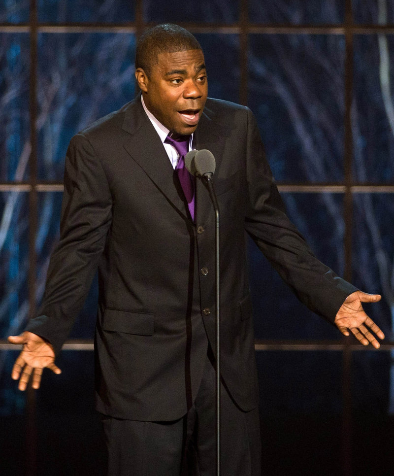 """Comedian and """"30 Rock"""" actor Tracy Morgan says he went too far June 3 when he told a Nashville, Tenn., audience that if his son were gay, he would """"pull out a knife and stab"""" him."""