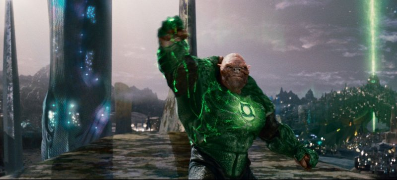 The Green Lantern Corps also includes the alien Kilowog, voiced by Michael Clarke Duncan.