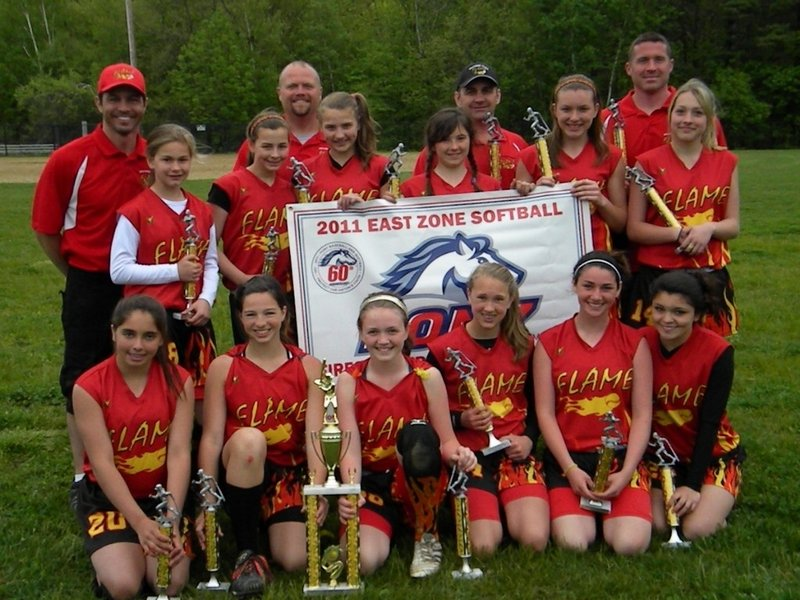 The Southern Maine Flame softball team is headed to the PONY national championship this summer after winning a qualifier in Nashua, N.H.