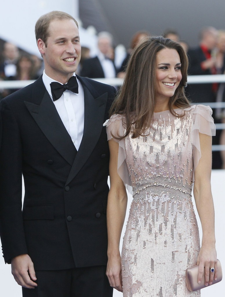 Prince William and Kate, the Duke and Duchess of Cambridge, arrive at a charity event in London on June 9. They will attend a black-tie dinner with Hollywood executives on July 9.