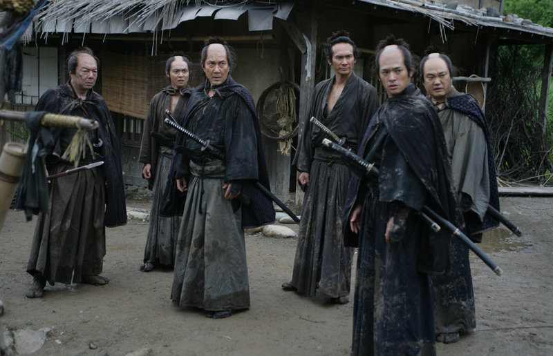"Takashi Miike's over-the-top samurai epic ""13 Assassins"" recalls ""The Seven Samurai"" with its band of hopelessly outnumbered swordsmen."