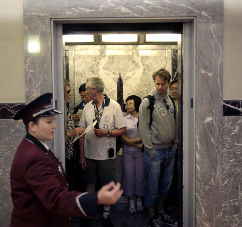 Otis Elevator, which put the original elevator system in the 102-floor Empire State Building, will install a computerized system to run all of the 68 elevators.