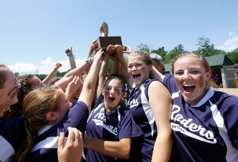 For the third time in four years, the Fryeburg Academy softball team won the Class B state championship, this time beating Bucksport to cap an undefeated season.