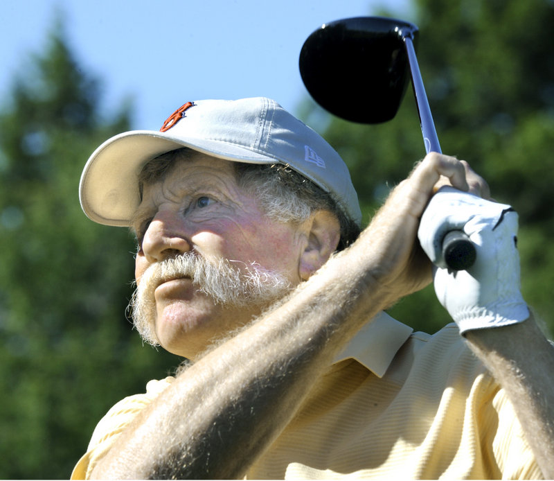 Mark Plummer, one of Maine's all-time great golfers, had a tough time in the first round, firing an 81 at the Falmouth Country Club.