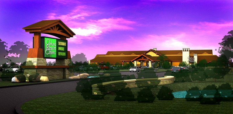 Developers can't work on the proposed Oxford resort until they prove their financial capacity.