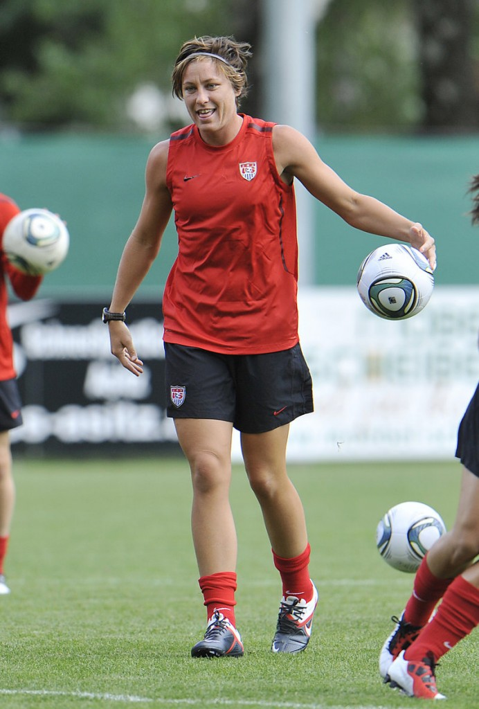 Abby Wambach will be counted on for offense when the U.S. opens group play Tuesday against North Korea at the women's World Cup in Germany.