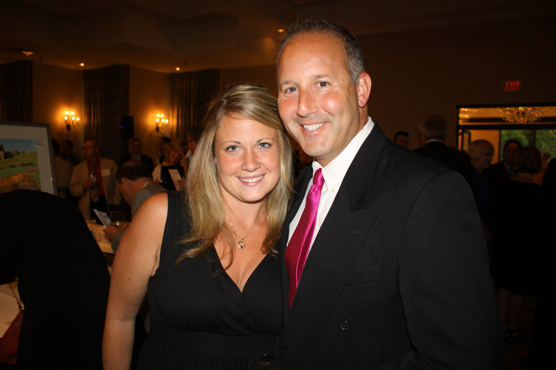 Karen Goldberg and her husband, Lee Goldberg, who is a sports anchor on WCSH-6.